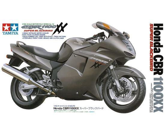 Склеиваемые модели  Tamiya 14070 Мотоцикл Honda CBR1100XX Super Blackbird tm02001 купить в твоимодели.рф